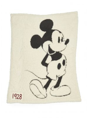 Barefoot Dreams CozyChic Classic Disney Mickey Mouse Baby Blanket